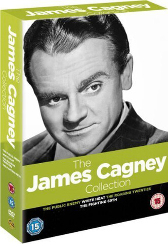 Golden Age Verzameling: James Cagney (Public Enemy / White Heat / Roaring 20s / Fighting 69th)
