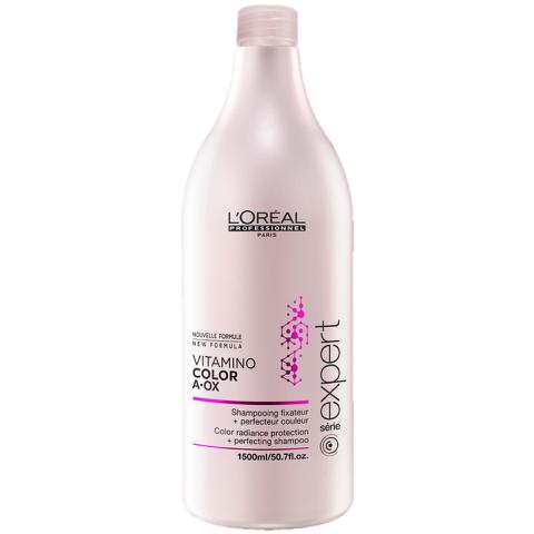 Après-shampooing fixateur de couleur L'Oréal Professionnel série Expert Vitamino Color (750ml) - Pompe inclue