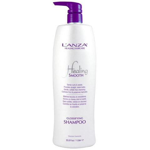 LAnza Healing Smooth Glossifying Shampoo (1000ml) - (Worth £82.50)