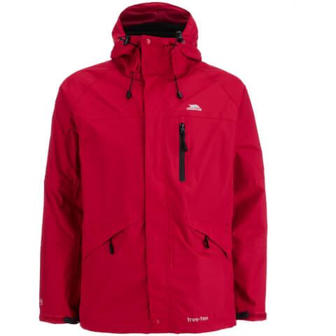 Trespass Men's Corvo Waterproof Jacket - Red