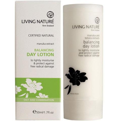Loción de día equilibrante Living Nature (50ml)
