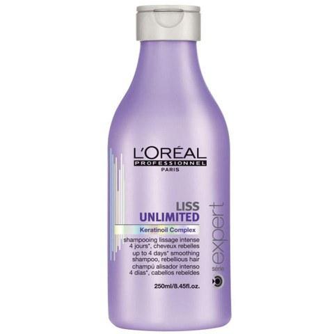 Shampoing lissage intense L'Oréal Professionnel Série Expert Liss Unlimited (250ml)