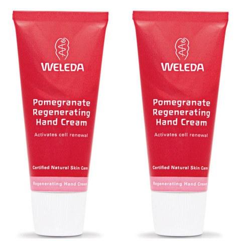 Weleda Pomegranate Regenerating Hand Cream Duo