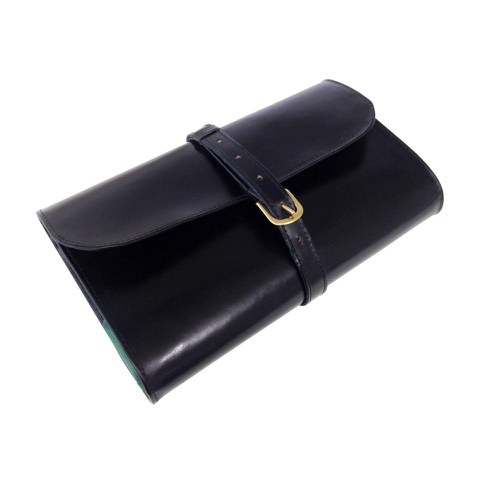 Carter and Bond Military Style Leather Wet Pack - Black