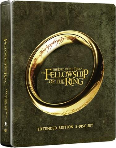 Lord of the Rings: Fellowship of the Ring - Steelbook de Edición Extendida (Incluye Copia UltraVioleta)