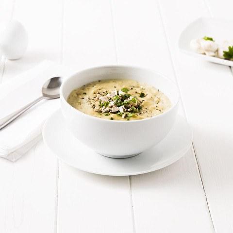 Exante Diet Pasta, Ham and Mushroom Soup