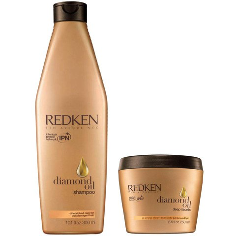 Duo soins nourrissants Redken Diamond Oil
