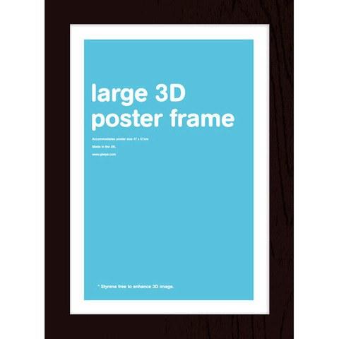 Black Frame Lenticular - 47 x 67cm