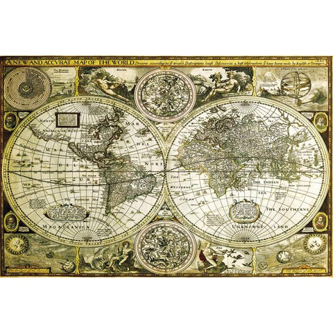 World Map Historical - Maxi Poster - 61 x 91.5cm