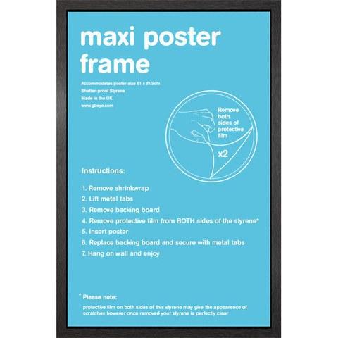 Black Frame Maxi - Maxi Frame - 61 x 91.5cm