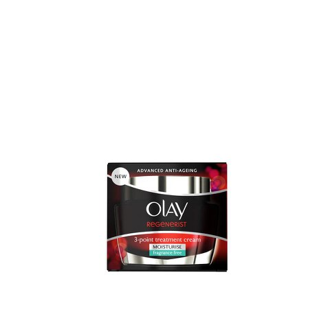 Crema antiedad sin perfume Olay Regenerist 3 Point Treatment (50ml)