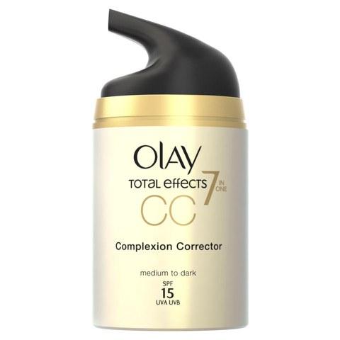 Crema CC reducción de poros Olay Total Effects - Media (50ml)