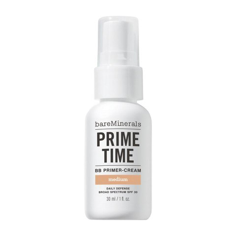 bareMinerals Prime Time™ BB Primer-Cream Daily Defense SPF 30 in Medium (30 ml)