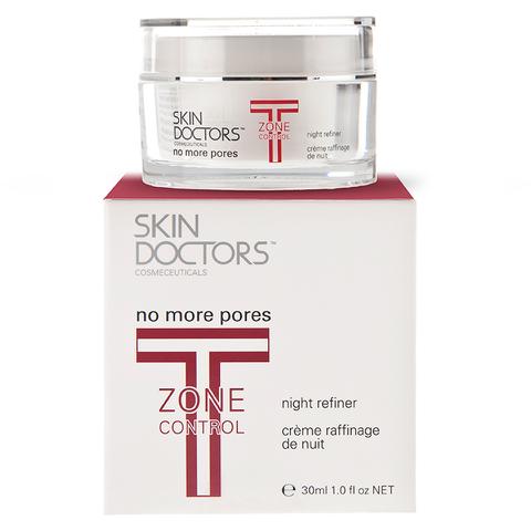 Skin Doctors T-Zone Control No More Pores Crème Raffinage de Nuit (30ml)