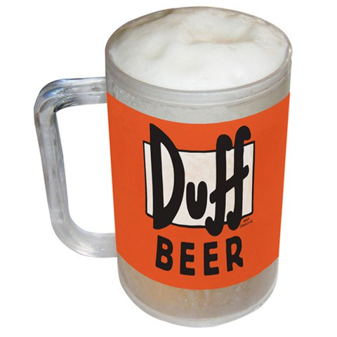 The Simpsons Freezable Duff Beer Tankard