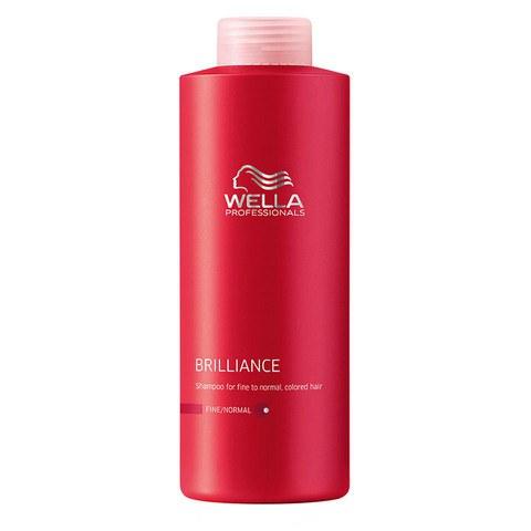 Wella Professionals Brilliance Fine Shampoo (1000ml) (Worth £38.80)