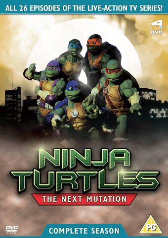 Teenage Mutant Ninja Turtles: The Next Mutation - Volume 1 and 2