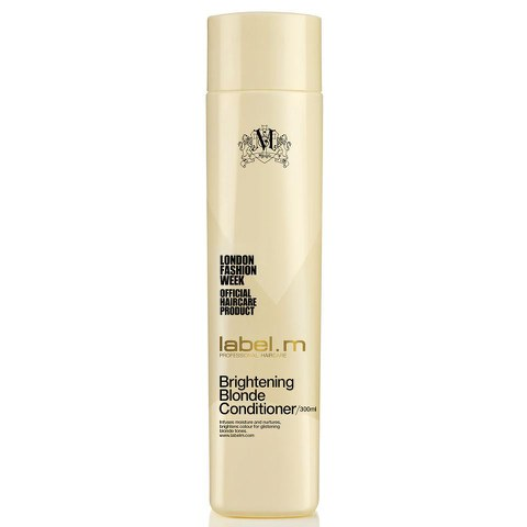 Acondicionador iluminador cabello rubio label.m Brightening Blonde (300ml)