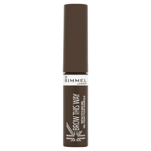 Rimmel Brow This Way Gel fixant pour sourcils - Mid Brown