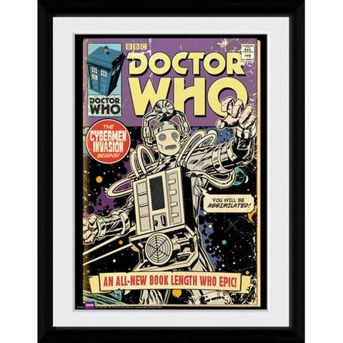 Doctor Who Cybermen Comic - 30x40 Collector Prints