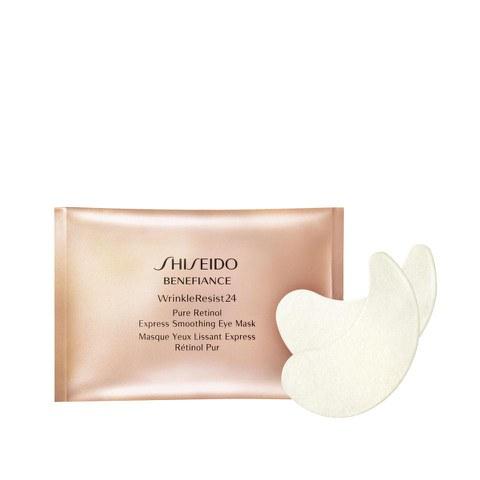 Mascarilla suavizante de ojos Shiseido Benefiance Pure Retinol Express x 12 unidades