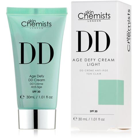 skinChemists Age Defying DD Cream with SPF 30 - Light (30ml)