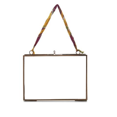 Nkuku Kiko Glass Frame - Antique Copper - Landscape 5