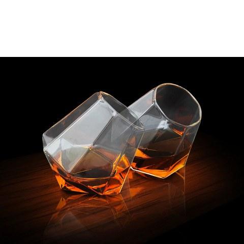 Diamond Glass (Set of 2)
