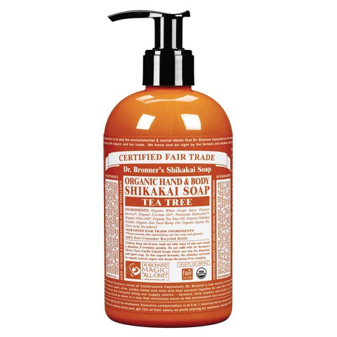 Dr. Bronner Organic Shikakai Tea Tree Hand Soap (355ml)