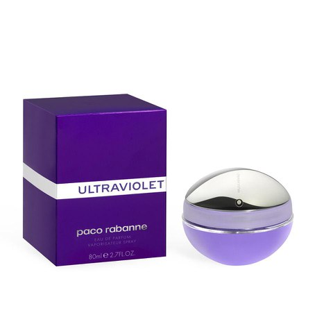 paco rabanne ultraviolet for her eau de parfum 80ml free. Black Bedroom Furniture Sets. Home Design Ideas