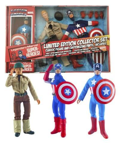 Marvel Le Captain America 8In Retro Action Figure Set (C: 1-1-2)