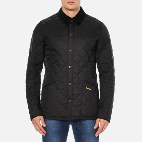 Barbour Heritage Men's Liddesdale Quilt Jacket - Black