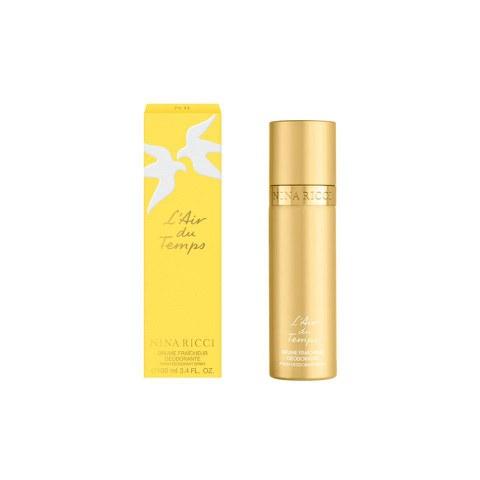 Nina Ricci Women's L'Air du Temps Fresh Deodorant Spray (100ml)