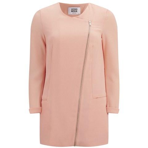 Vero Moda Women's Karo Pastel Jacket - Tropical Peach