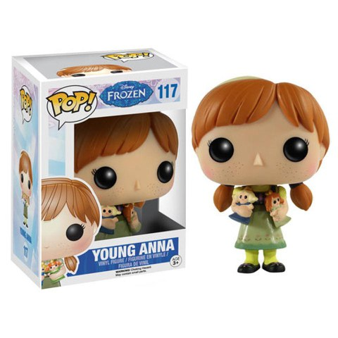 Disney Die Eiskönigin junge Anna Funko Pop! Figur