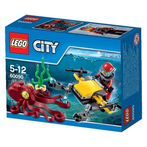 LEGO City: Diepzee Duik Scooter (60090)
