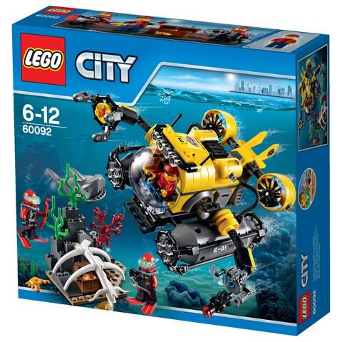 LEGO City: Diepzee Duikboot (60092)