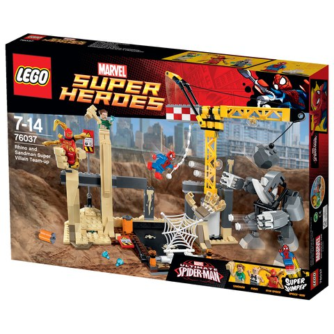 LEGO Super Heroes: Rhino und Sandman - Allianz der Superschurken (76037)