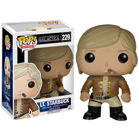 Battlestar Galactica Classic Lt. Starbuck Funko Pop! Figur
