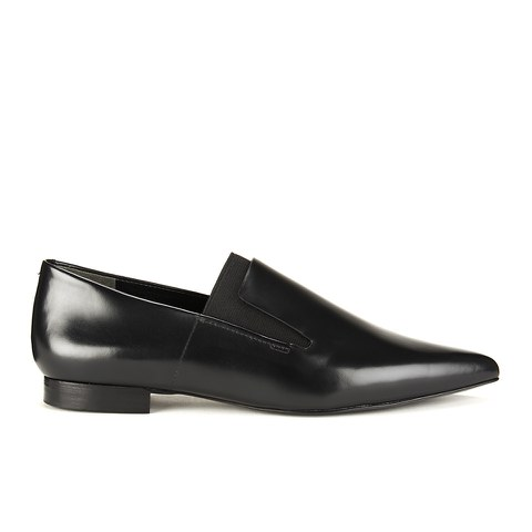 Alexander Wang Women's Jamie Pointed Leather Shoes - Black
