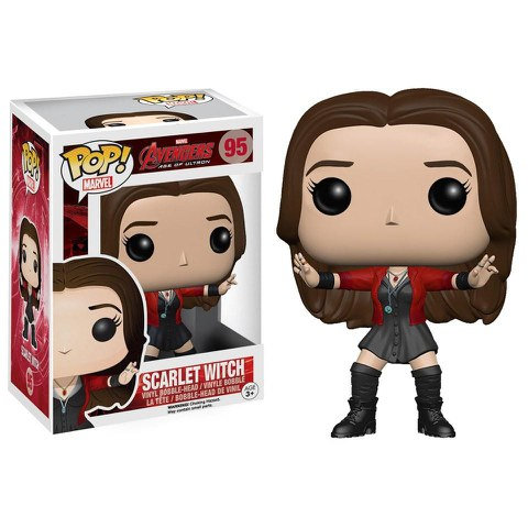 Marvel Avengers Age of Ultron Scarlet Witch Funko Pop! Bobblehead Figuur