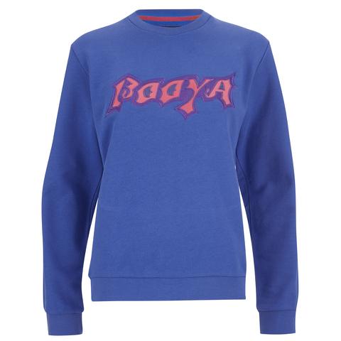 House of Holland Women's Booya Loopback Jersey Sweatshirt - Blue