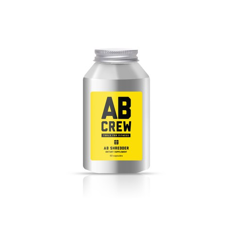 AB CREW Men's AB Shredder Supplement (60 Capsules)