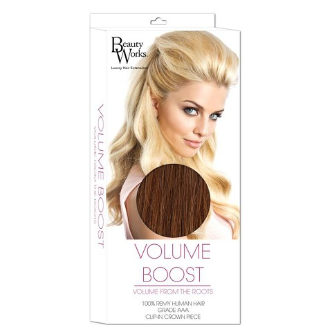 Beauty Works Volume Boost Hair Extensions - 6 Caramel
