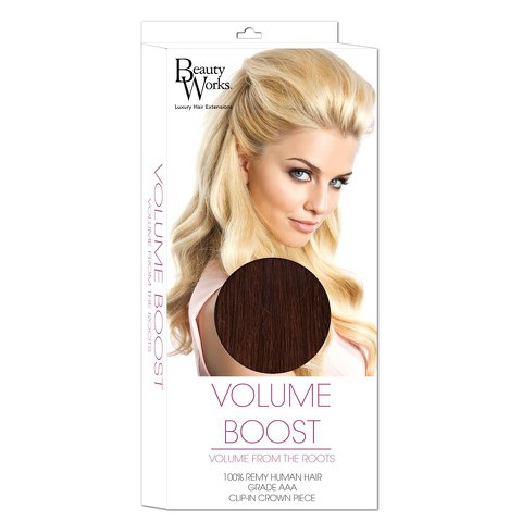 Beauty Works Volume Boost Hair Extensions - 4/6 Chocolate