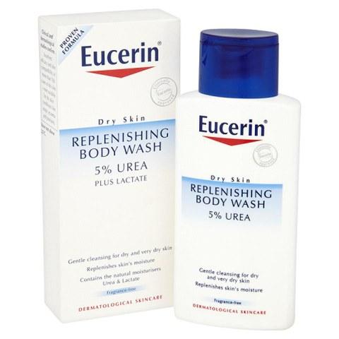 Eucerin® Dry Skin Replenishing Body Wash 5% Urea Plus Lactate (200ml)