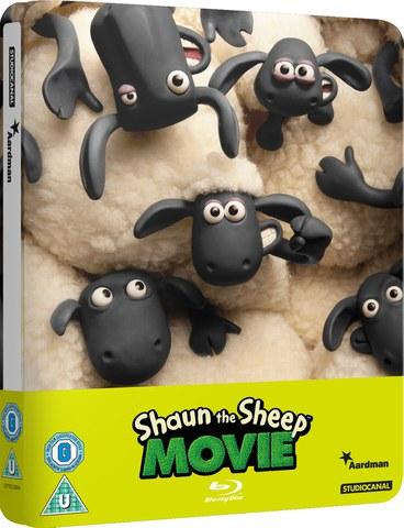 Shaun the Sheep - Zavvi Exclusive Limited Edition Steelbook (slechts 2000 exemplaren)