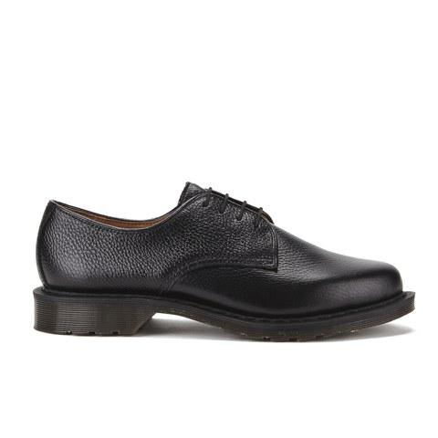 Dr. Martens Men's Oscar Octavius New Nova Leather 4-Eye Shoes - Black
