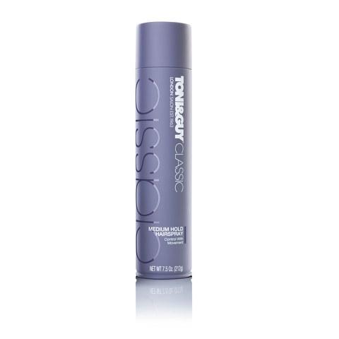 Toni & Guy Classic Medium Hold Hairspray (250ml)