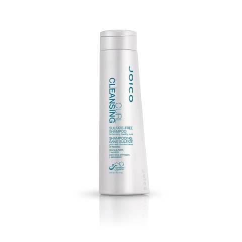 Joico Curl Cleansing Sulfate-Free Shampoo for Bouncy, Healthy Curls (300ml)